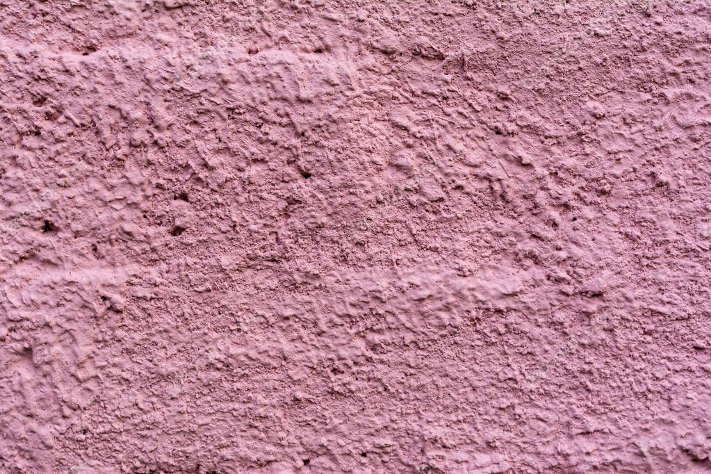 close-up view of old purple cement wall textured background