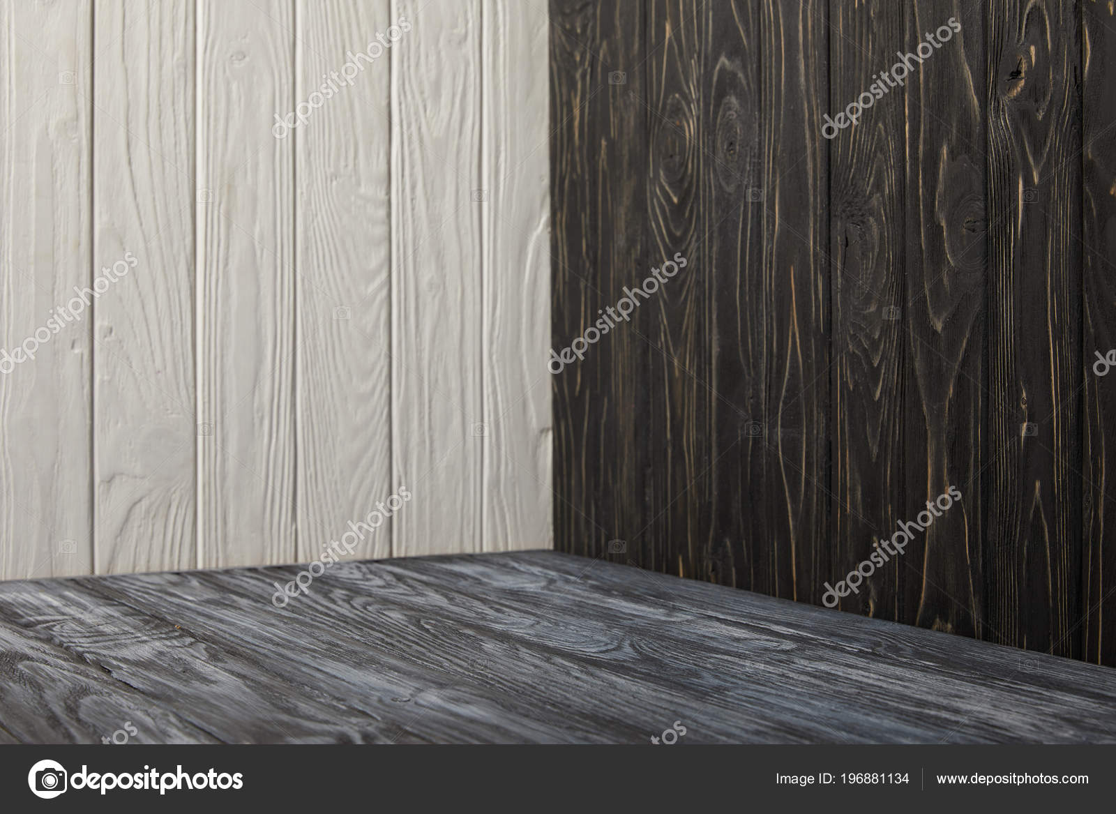 Houten Vloer Grijs : Grijs houten vloer houten muren u stockfoto micenin