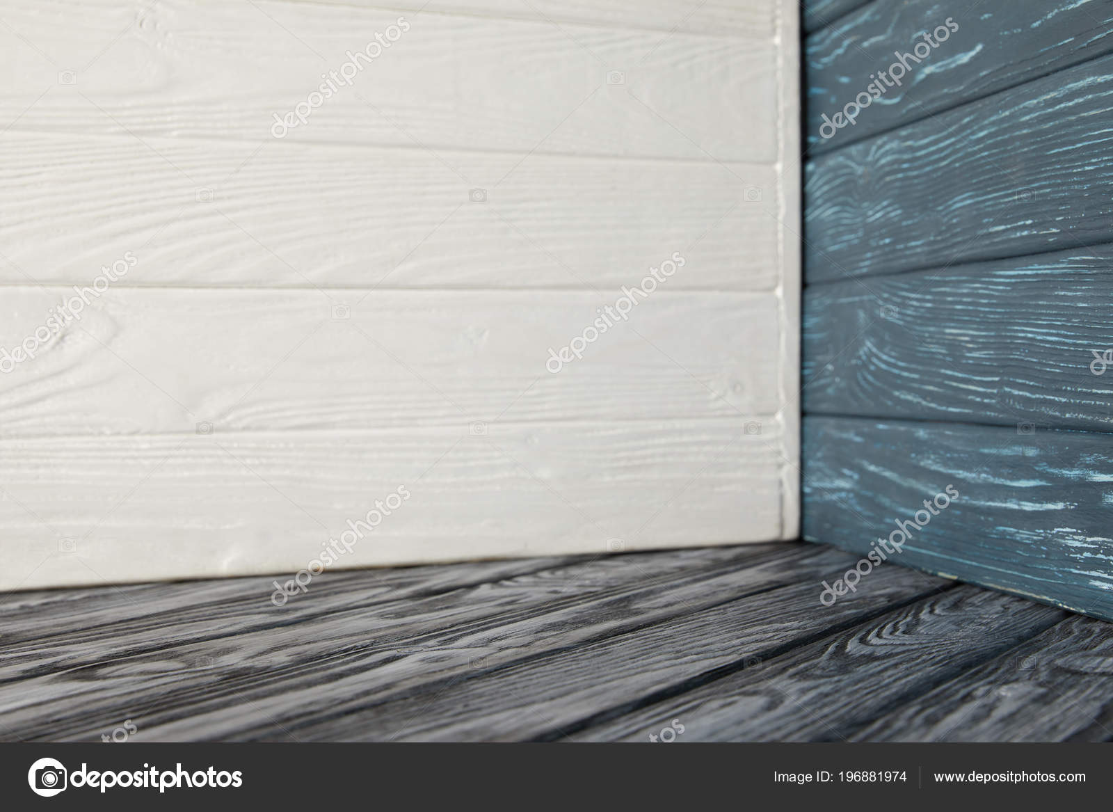 Houten Vloer Grijs : Grijs houten vloer verschillende houten muren u stockfoto