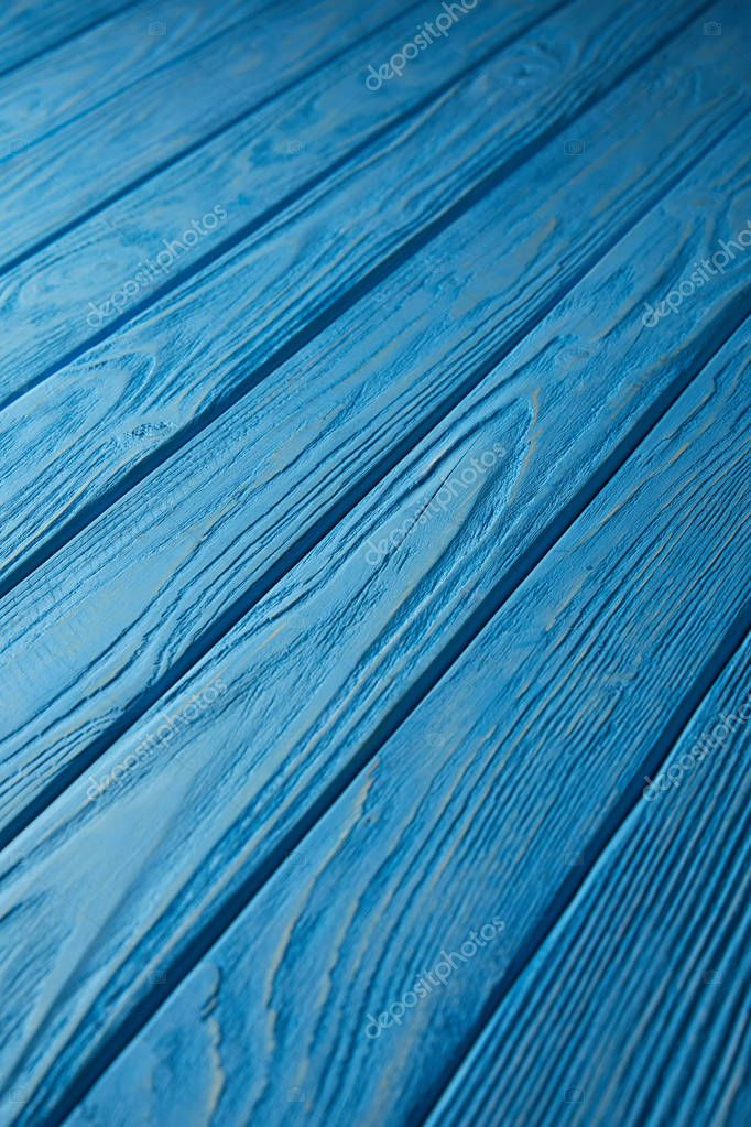 blue wooden striped rustic background