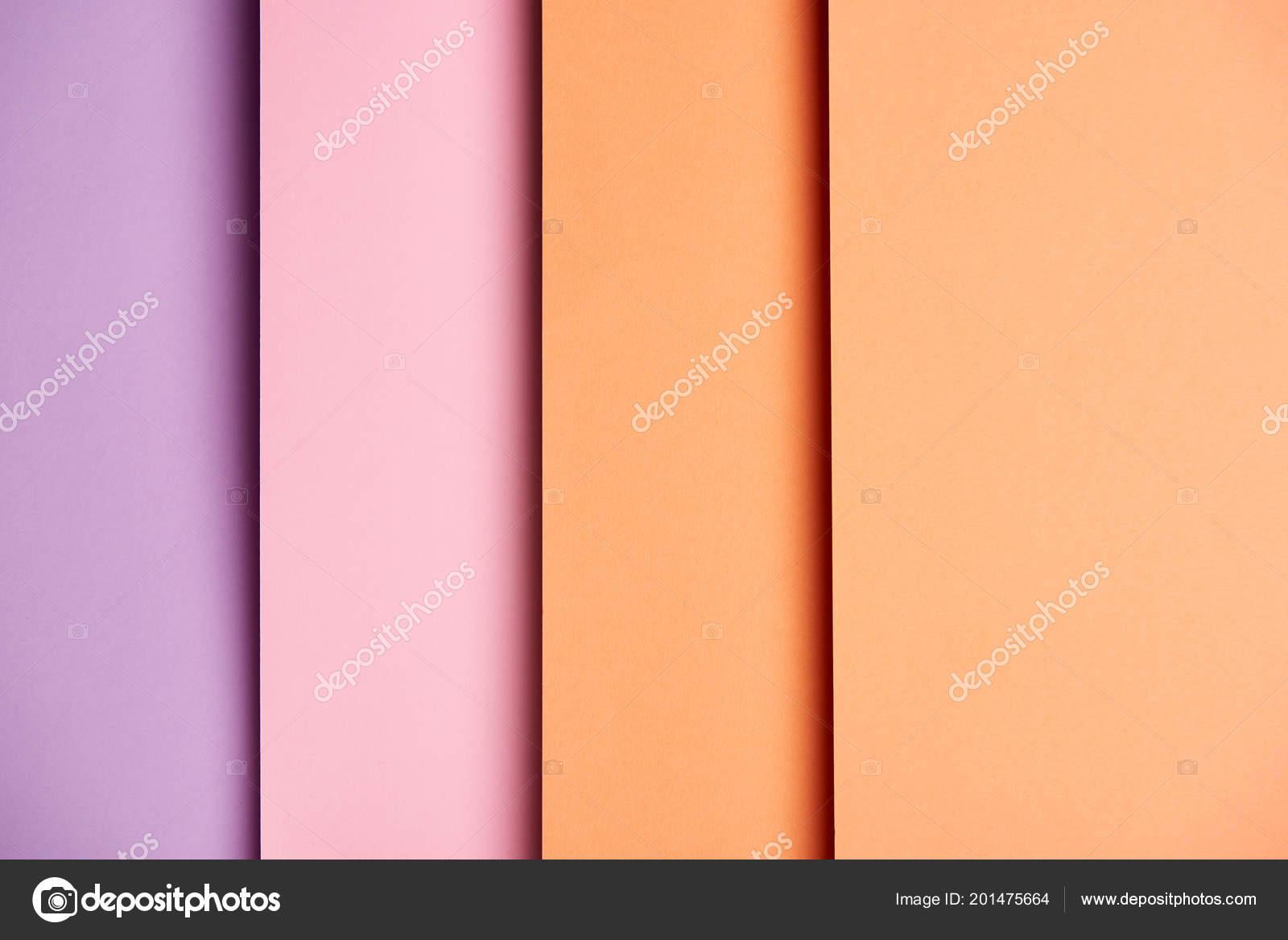 vertical background paper sheets pink orange ストック写真
