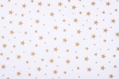 Abstract pattern with bright stars on white background