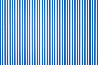 Striped blue and white pattern texture