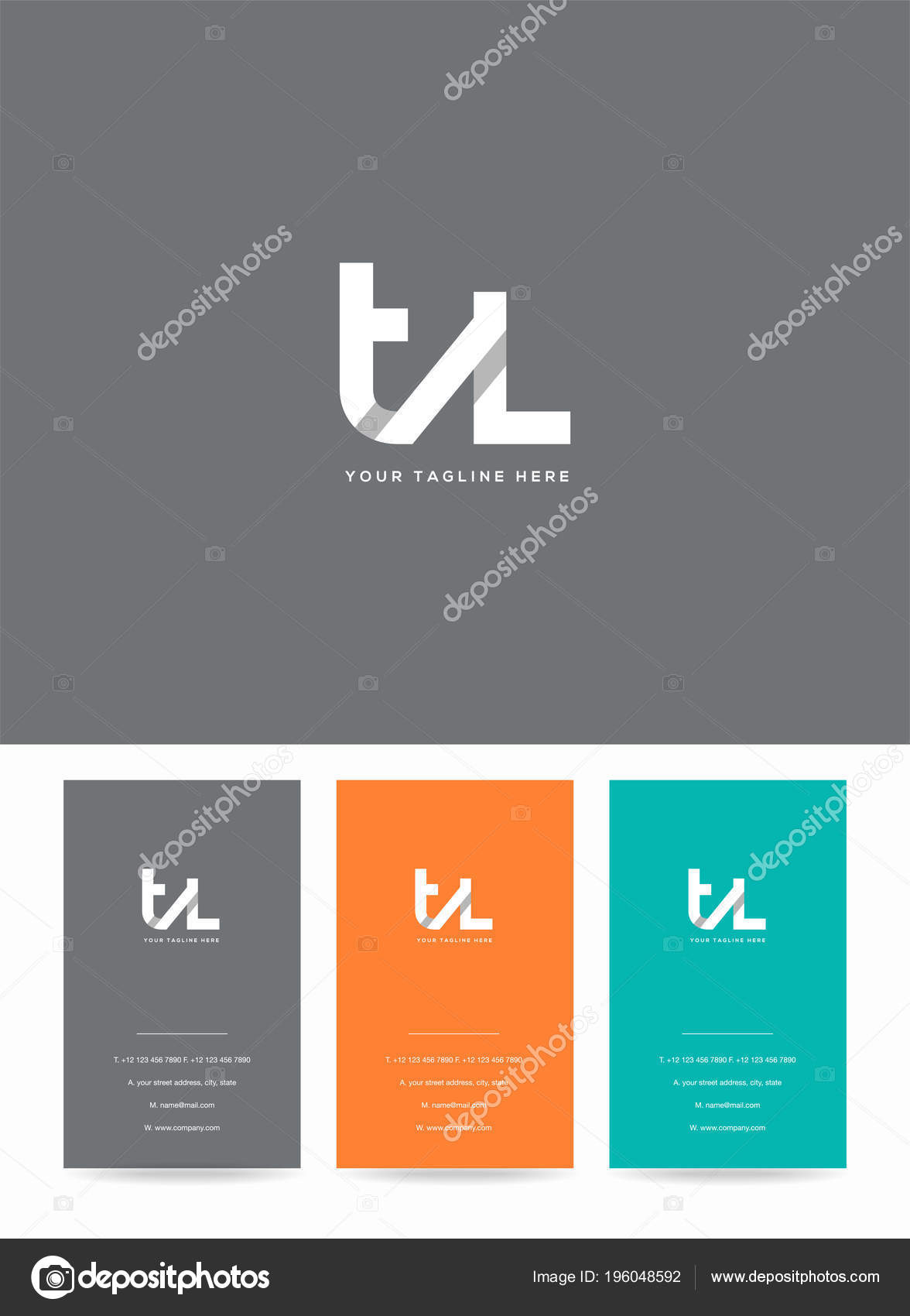 Letters logo template business card stock vector ajayandzyn letters logo template business card stock vector fbccfo