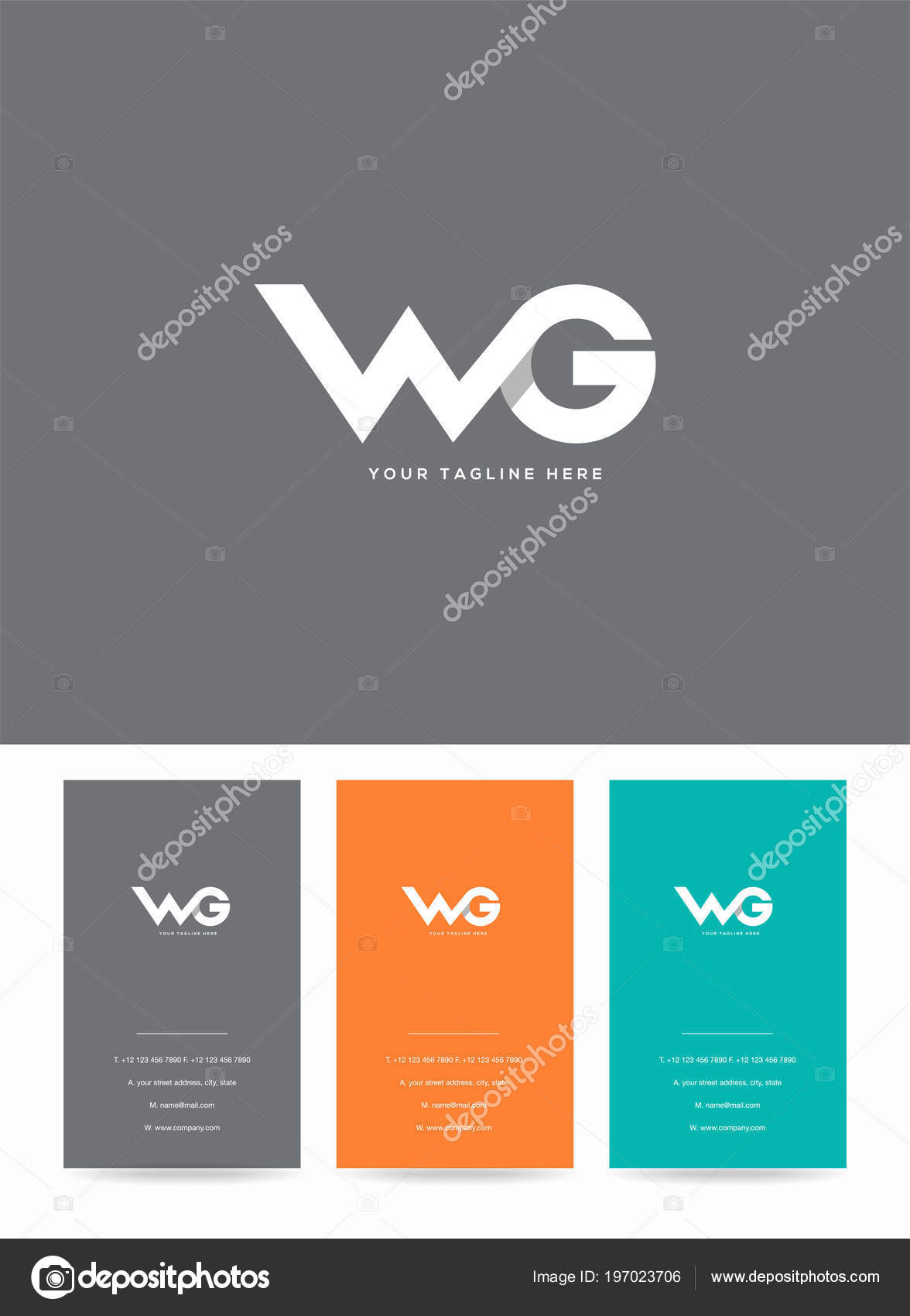 Letters logo template business card stock vector ajayandzyn letters logo template business card stock vector wajeb Images