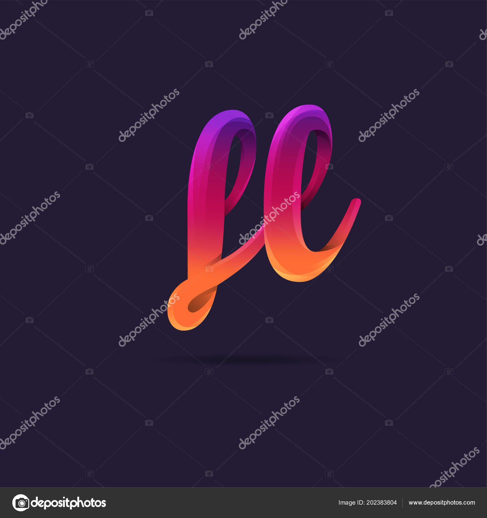 letters logo template business banner ストックベクター