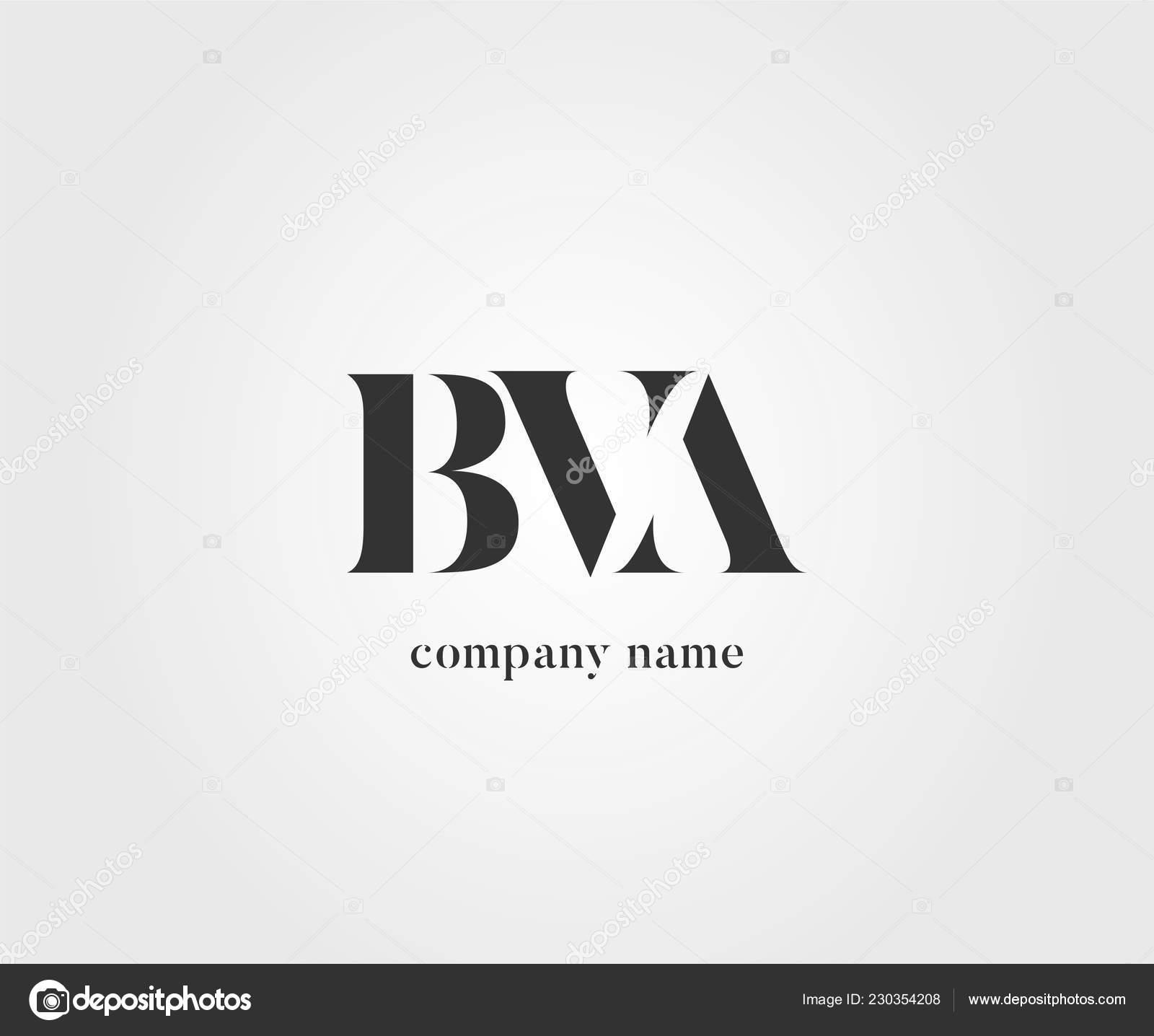 Gemeinsame Bva Logo Für Visitenkarten Vorlage Vektor
