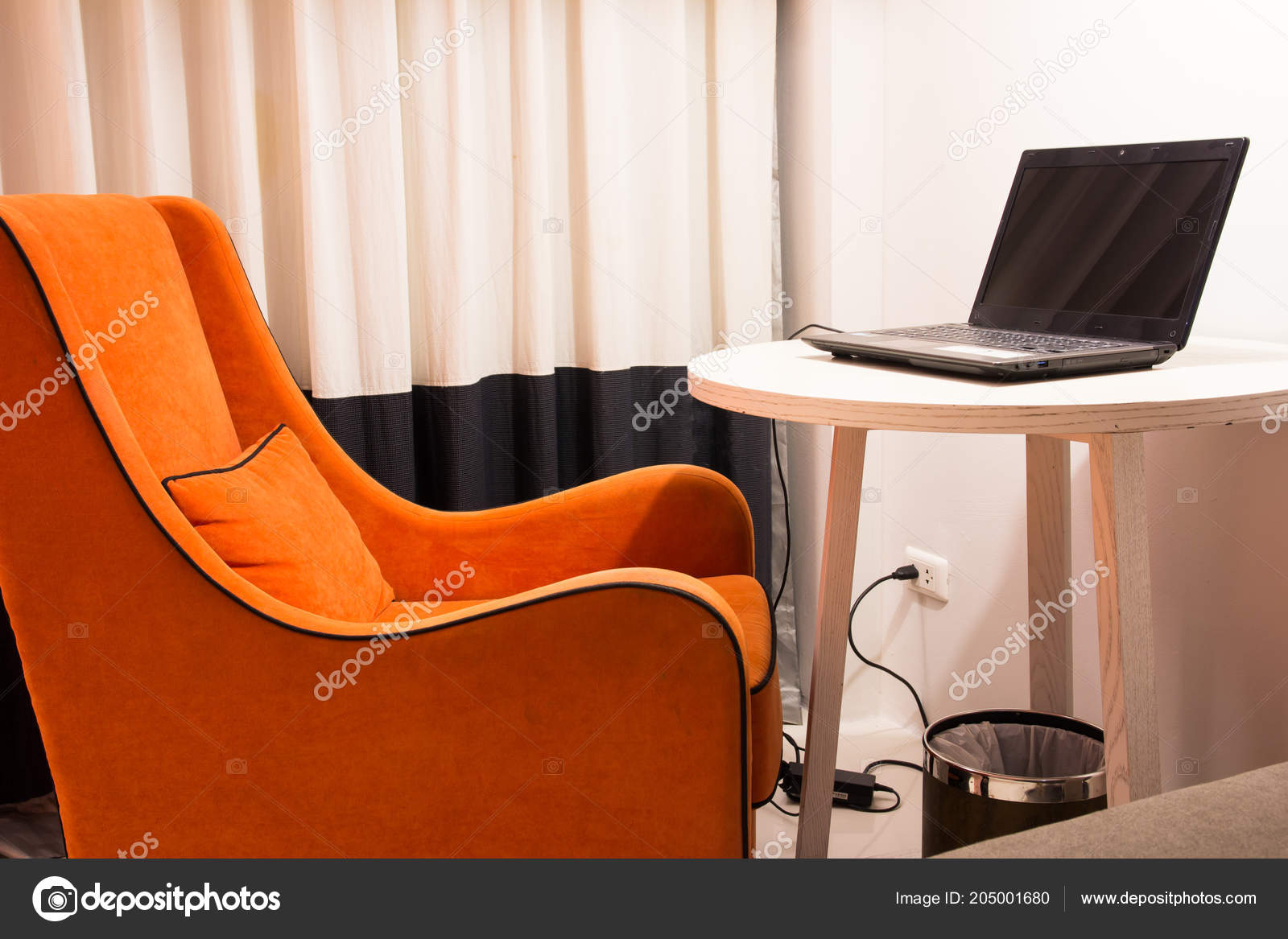 depositphotos stock photo living room armchair table