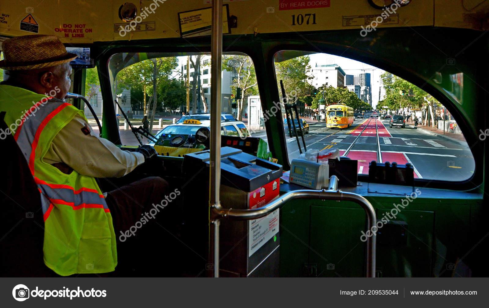 Driver San Francisco Original Pcc Streetcars Market Street