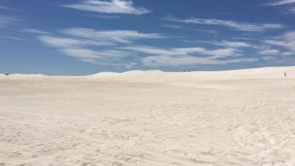 Panorámás táj kilátás Lancelin homokdűnék táj közelében Lancelin Nyugat-Ausztráliában