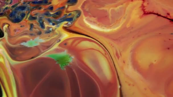 Abstract Colours Spreading Paint Swirling and Blast. This 1920x1080 (HD) footage is an amazing organic background for visual effects and motion graphics. This clip will look great in your next film, movie, or documentary.