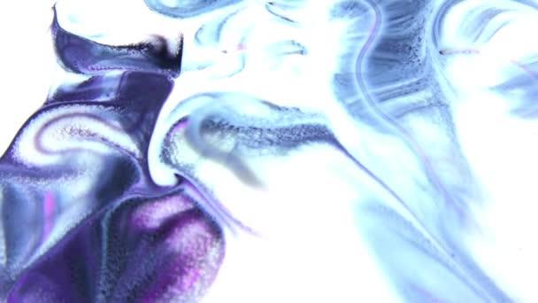 Absztrakt színes festék festék felrobban diffúzió pszichedelikus robbanás mozgás.