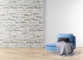 velké luxusní moderní světlé interiéry obývacího pokoje obrázek 3d