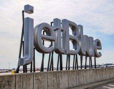 NEW YORK- MARCH 14, 2019: JetBlue Terminal 5 at JFK International Airport