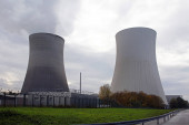 nuclear power plant in philippsburg, germany