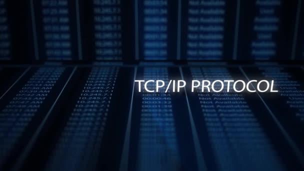 Konzept der digitalen filmischen Textinformationstechnologie - tcp / ip-Protokoll