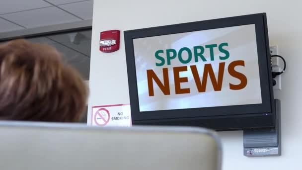 Vysílání v nemocnici series - sportovní zpravodajství