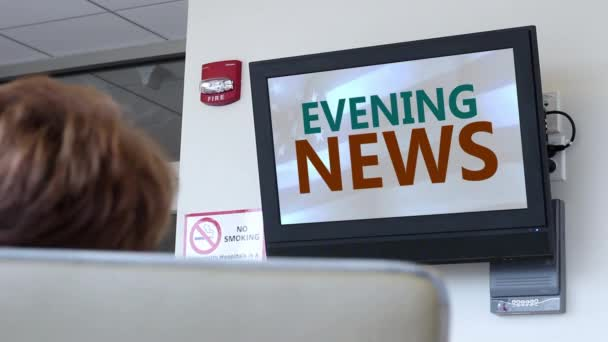 Vysílání v nemocnici series - ranní zprávy