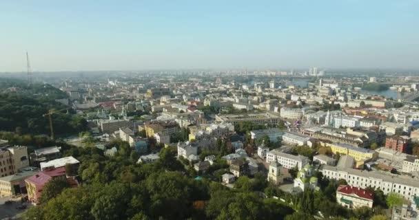 die andrew-kirche mit goldenem schmuck: kiev, ukraine