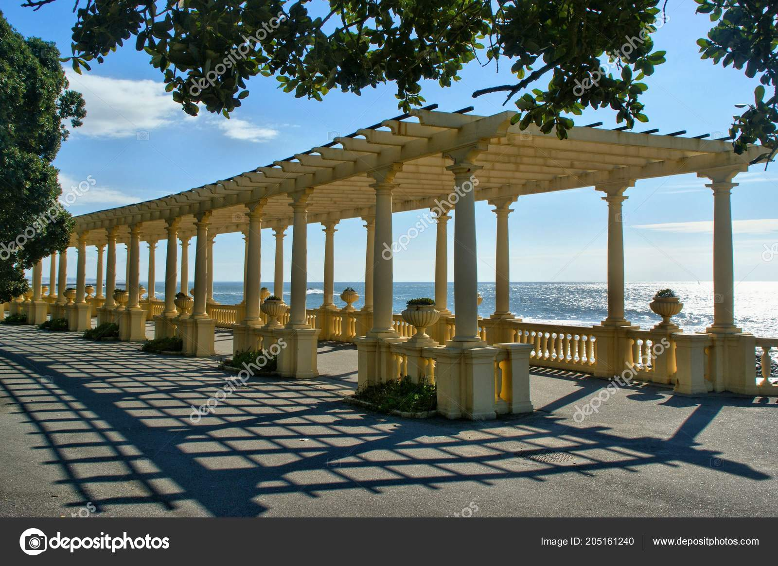 Coastal Way Pergola Foz Douro Oporto Portugal — Stock Photo