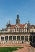 19. května 2018 - Drážďany, Německo: krásná budova Dresdner Zwinger slunečného dne