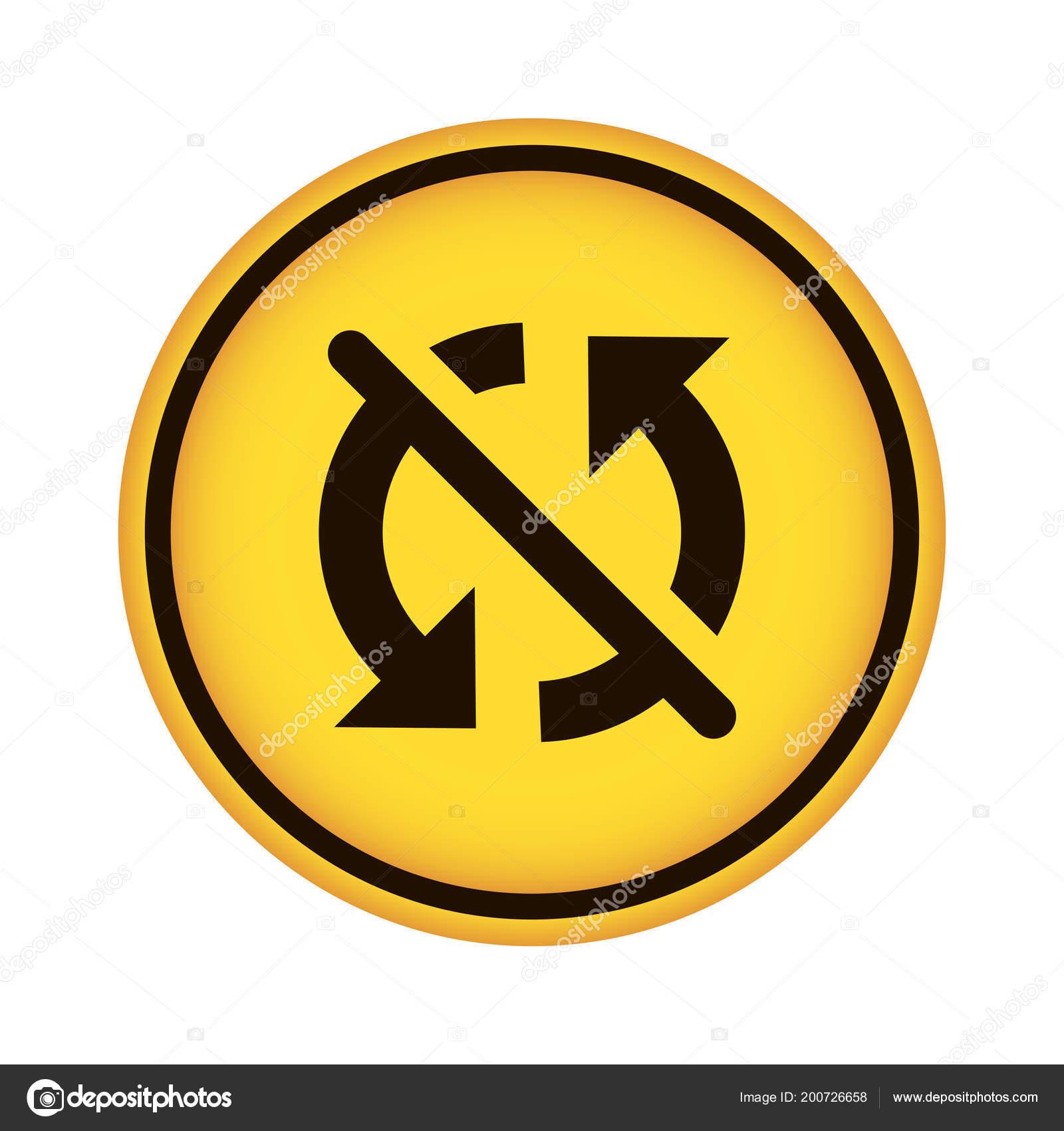 Disable Sync App Button Yellow — Stock Vector © kreizihorse #200726658