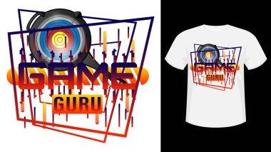 PUBG Game guru concept design for t-shirt.