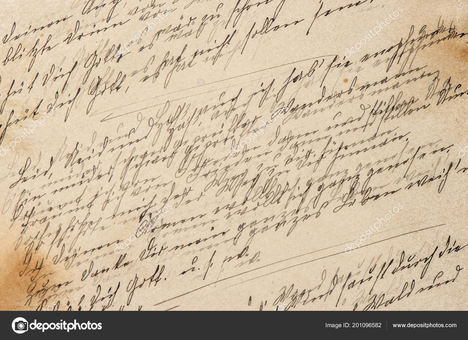 creative vintage paper texture handwriting retro toned background