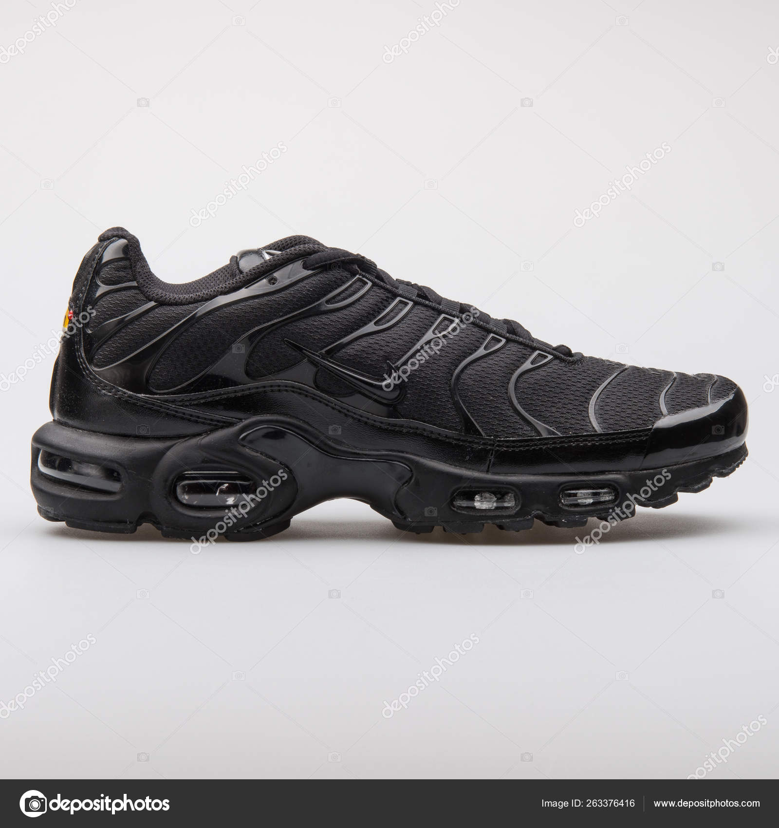 9a761292 Nike Air Max Plus black sneaker – Stock Editorial Photo ...