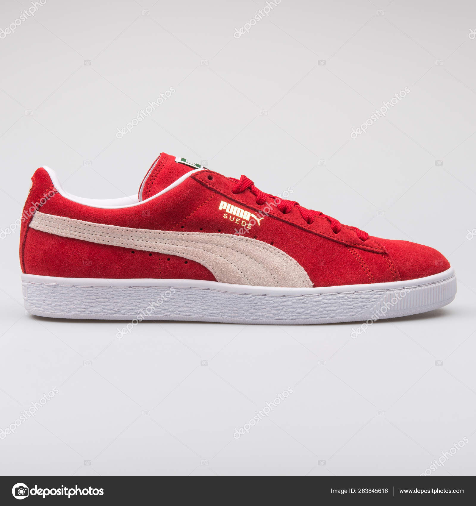 Puma Suede Classic red sneaker – Stock