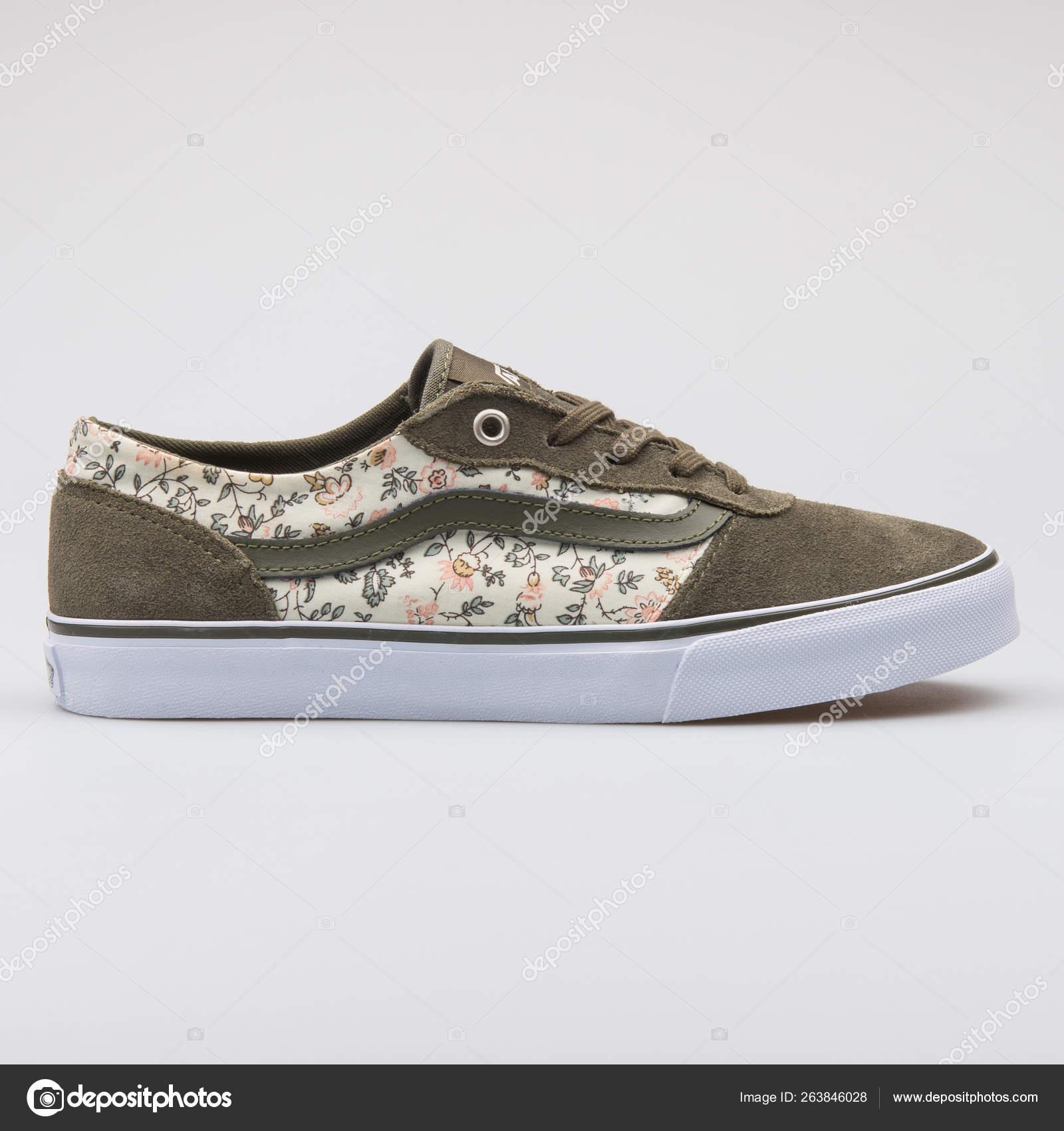 vans zapatillas verdes