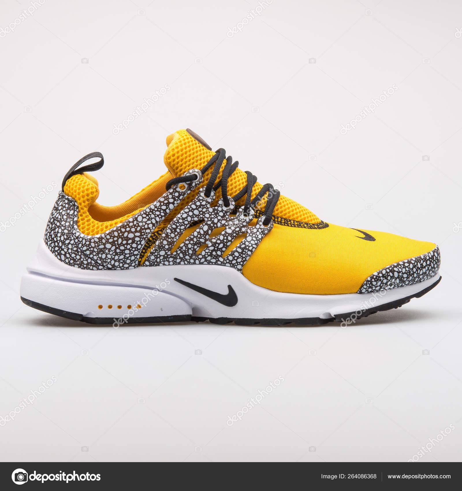 Nike Air Presto QS yellow and black