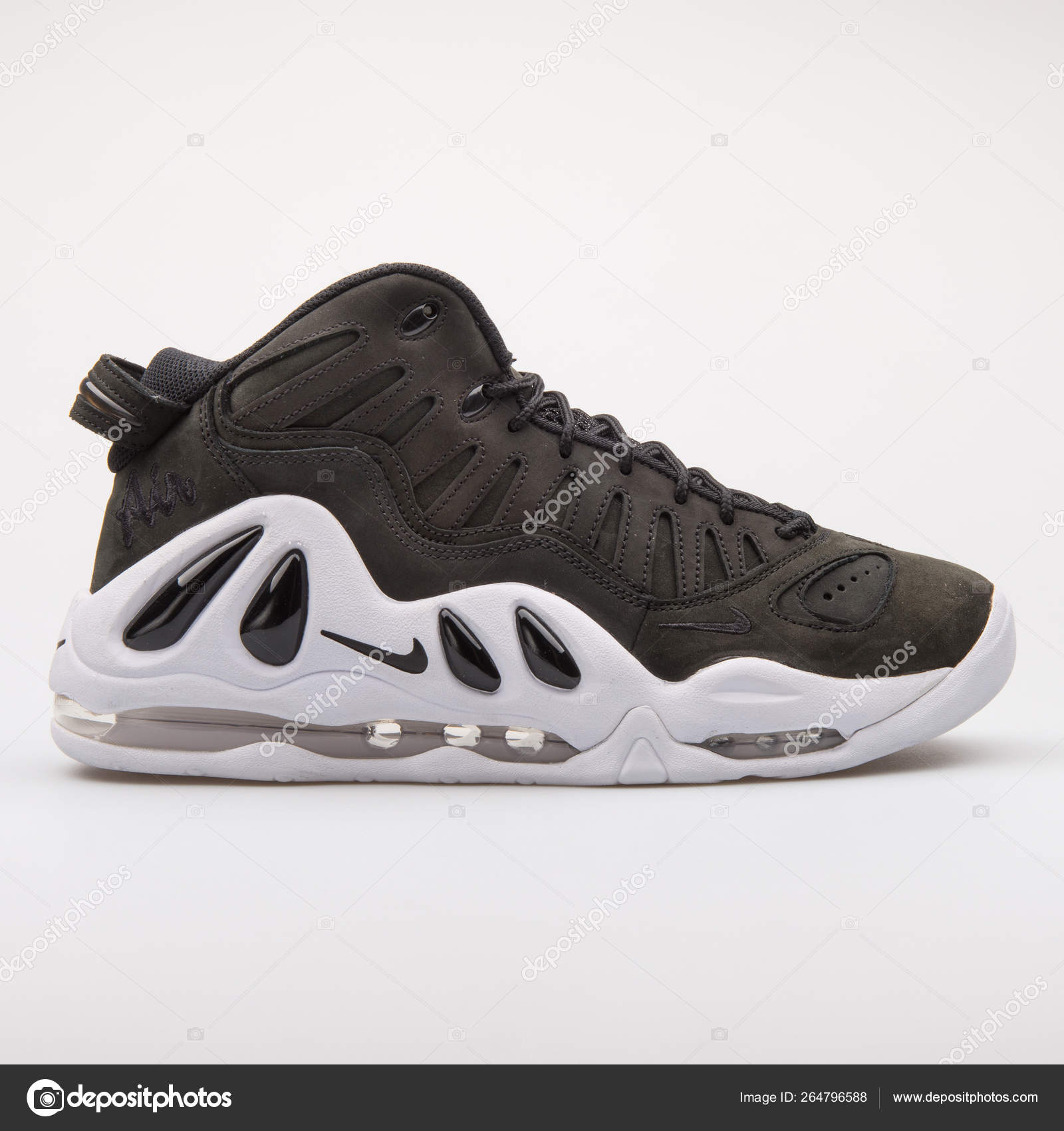 Nike Air Max Uptempo 97 black sneaker