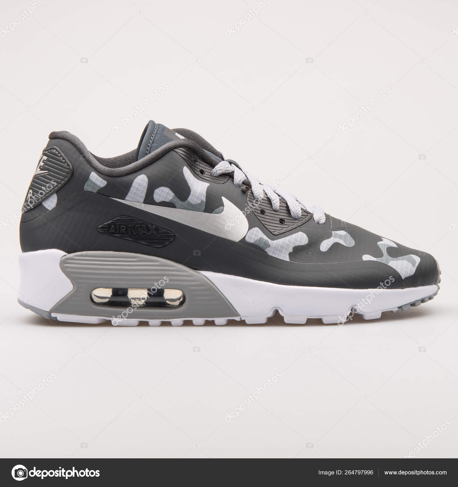 Nike Air Max 90 NS SE grey and black camo sneaker – Stock
