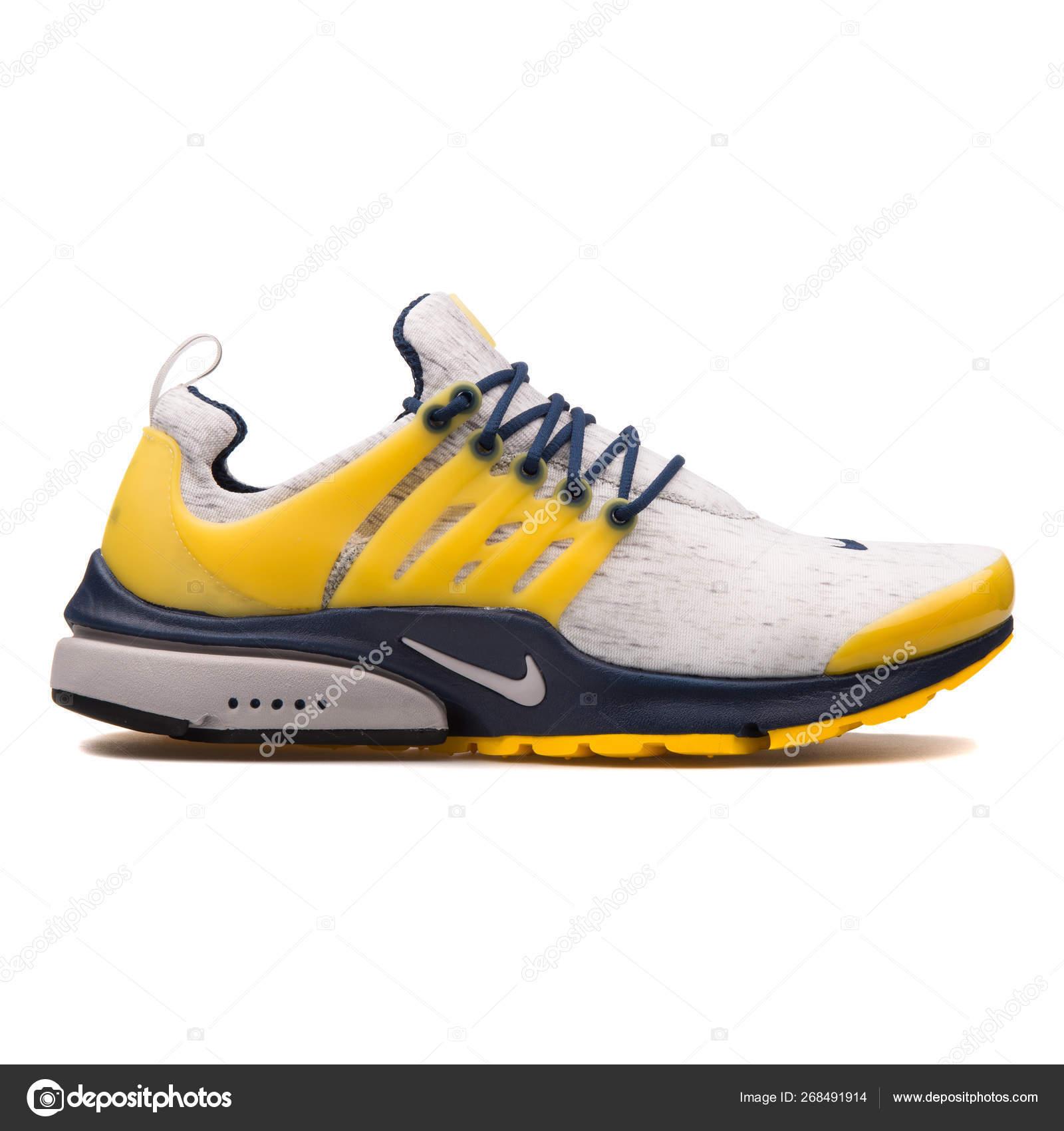 Nike Air Presto grey, navy blue and