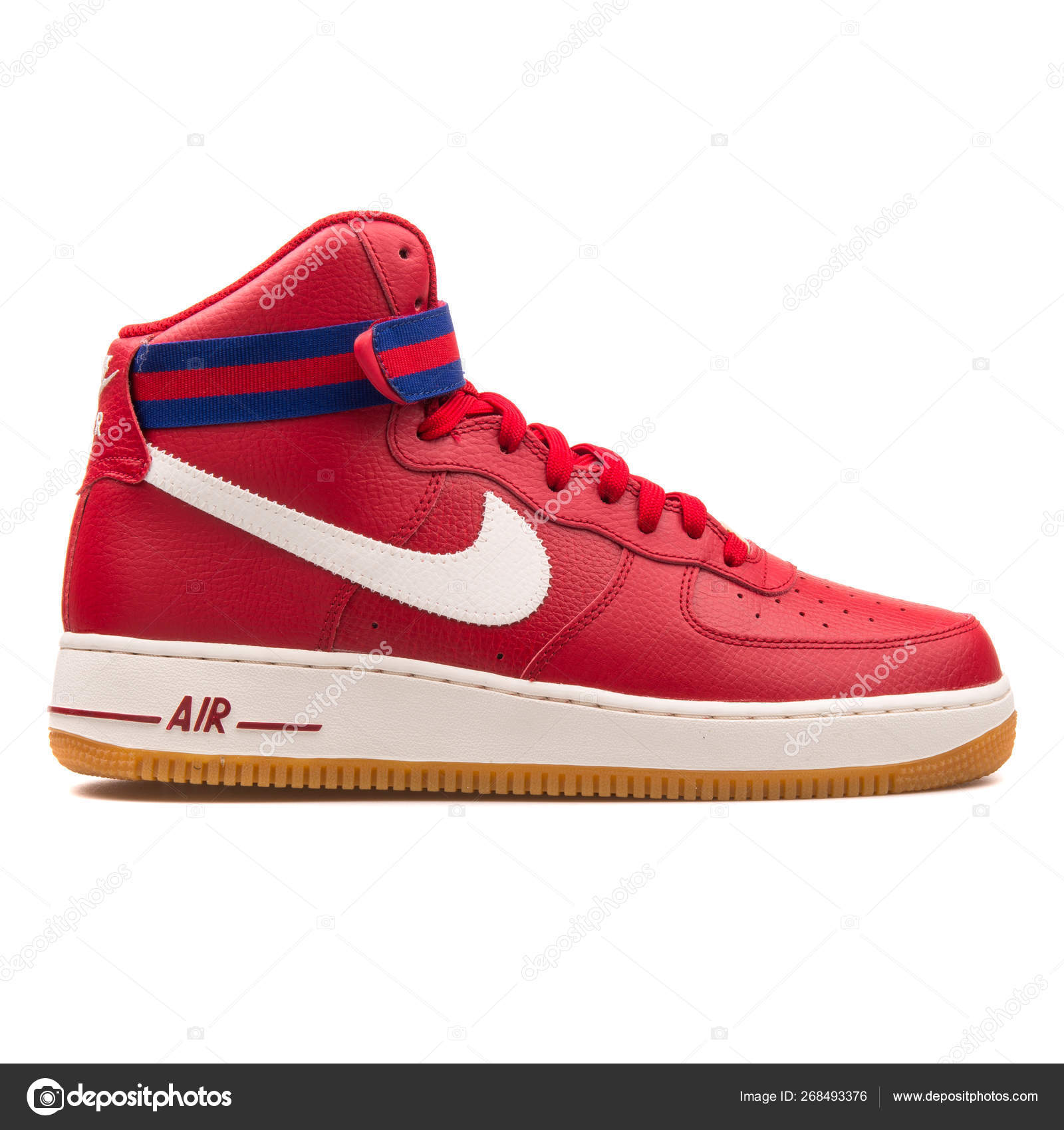 Pictures Nike Air Force 1 Image Nike Air Force 1 High 07 Red