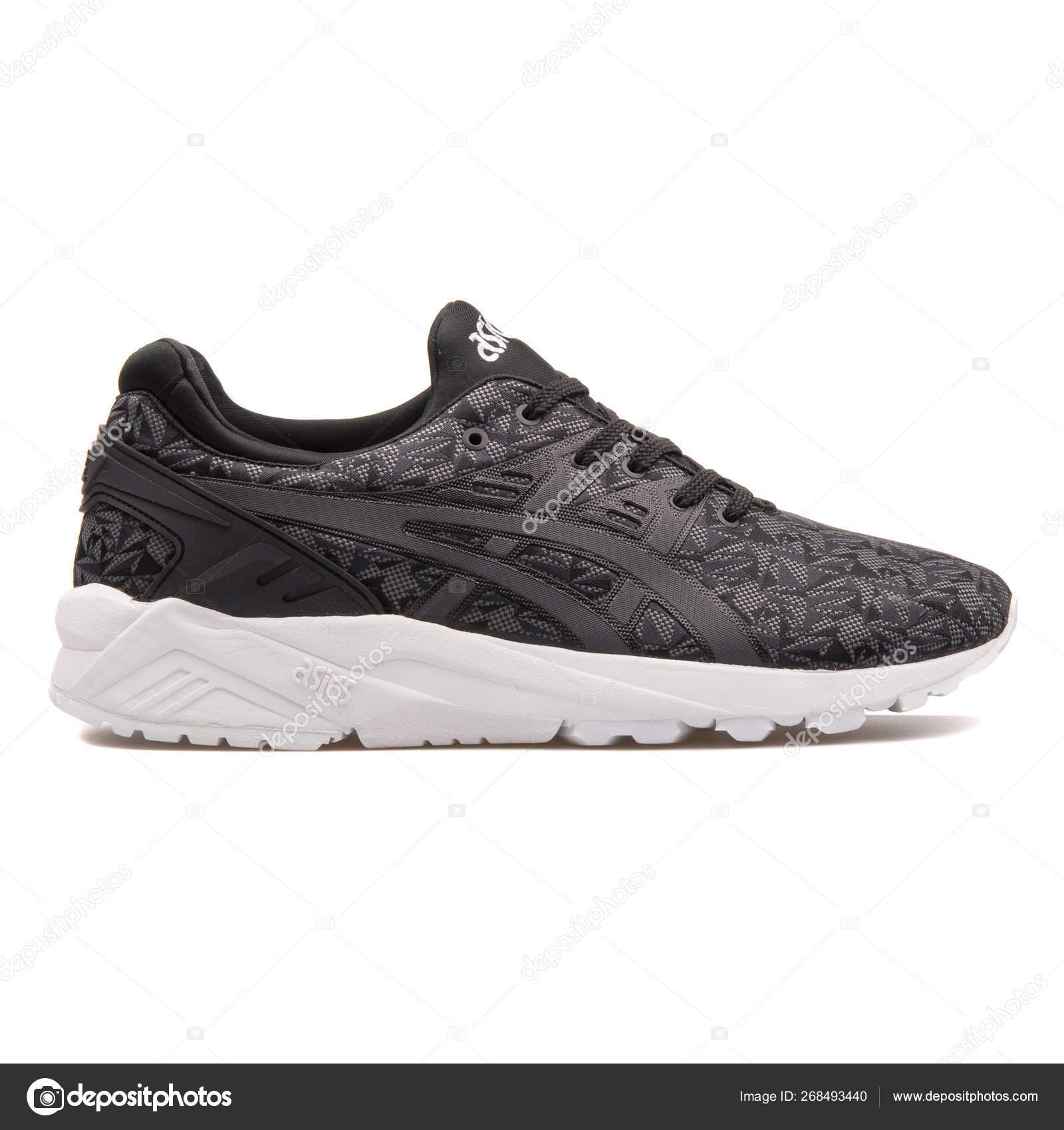 Excelente recomendar prestar  Asics Gel Kayano Trainer Evo black and grey sneaker – Stock Editorial Photo  © xMarshallfilms #268493440