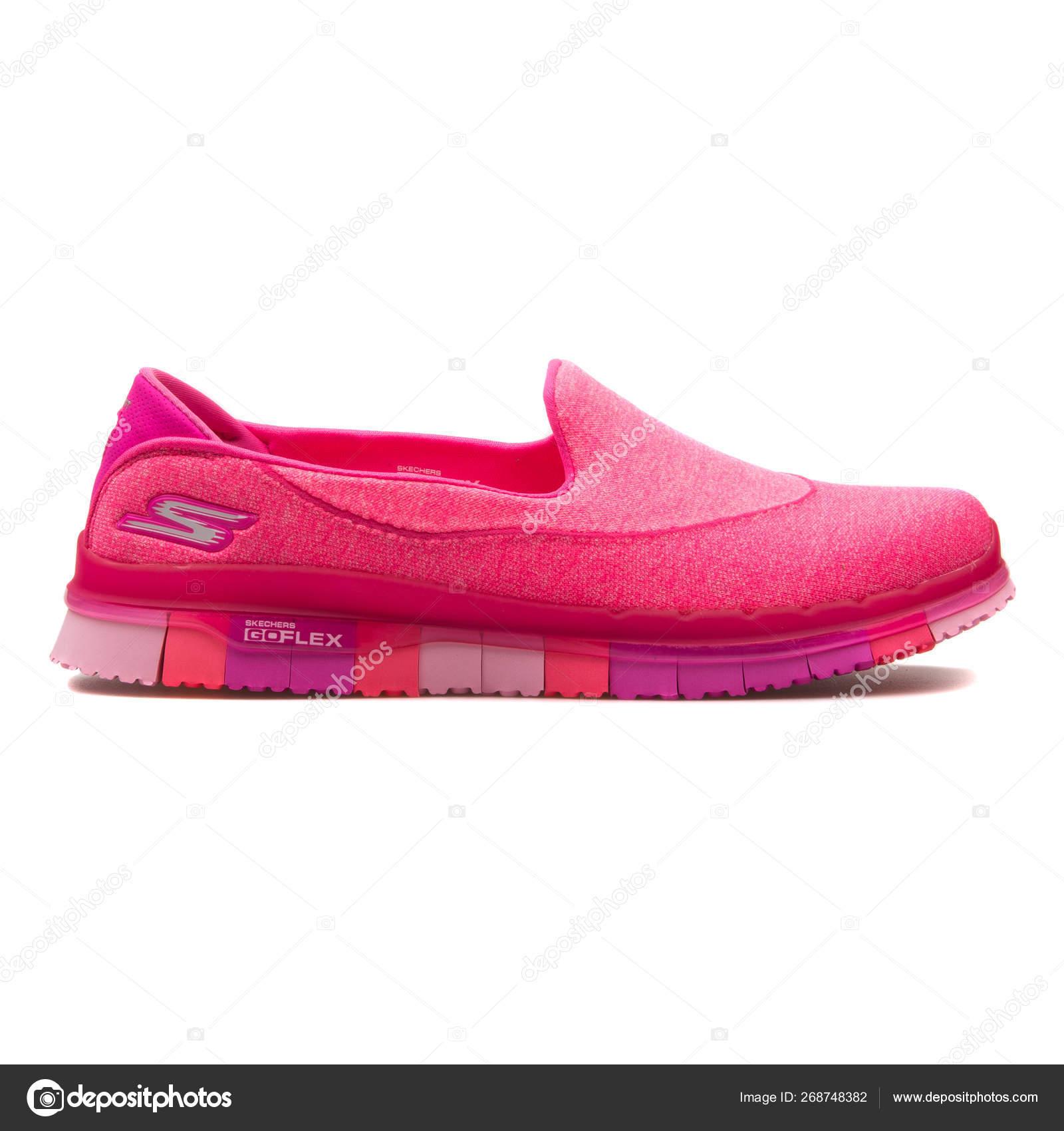 skechers go flex pink