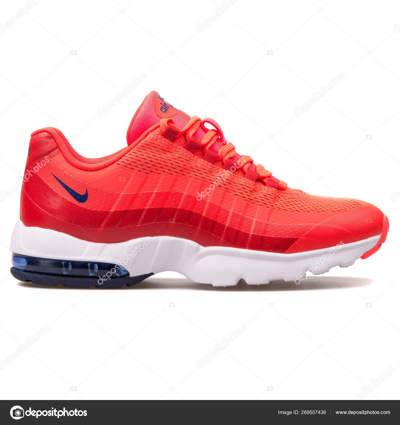 6c0d099b Nike Air Max 95 Ultra crimson sneaker – Stock Editorial Photo ...
