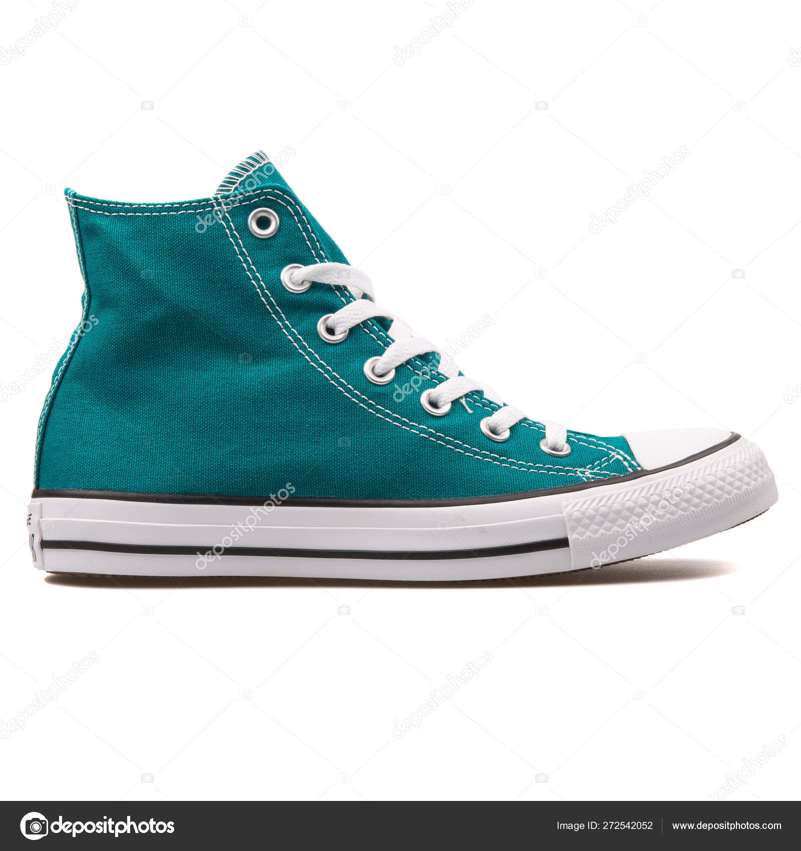 Converse Chuck Taylor All Star High Rebel teal sneaker – Stock ...
