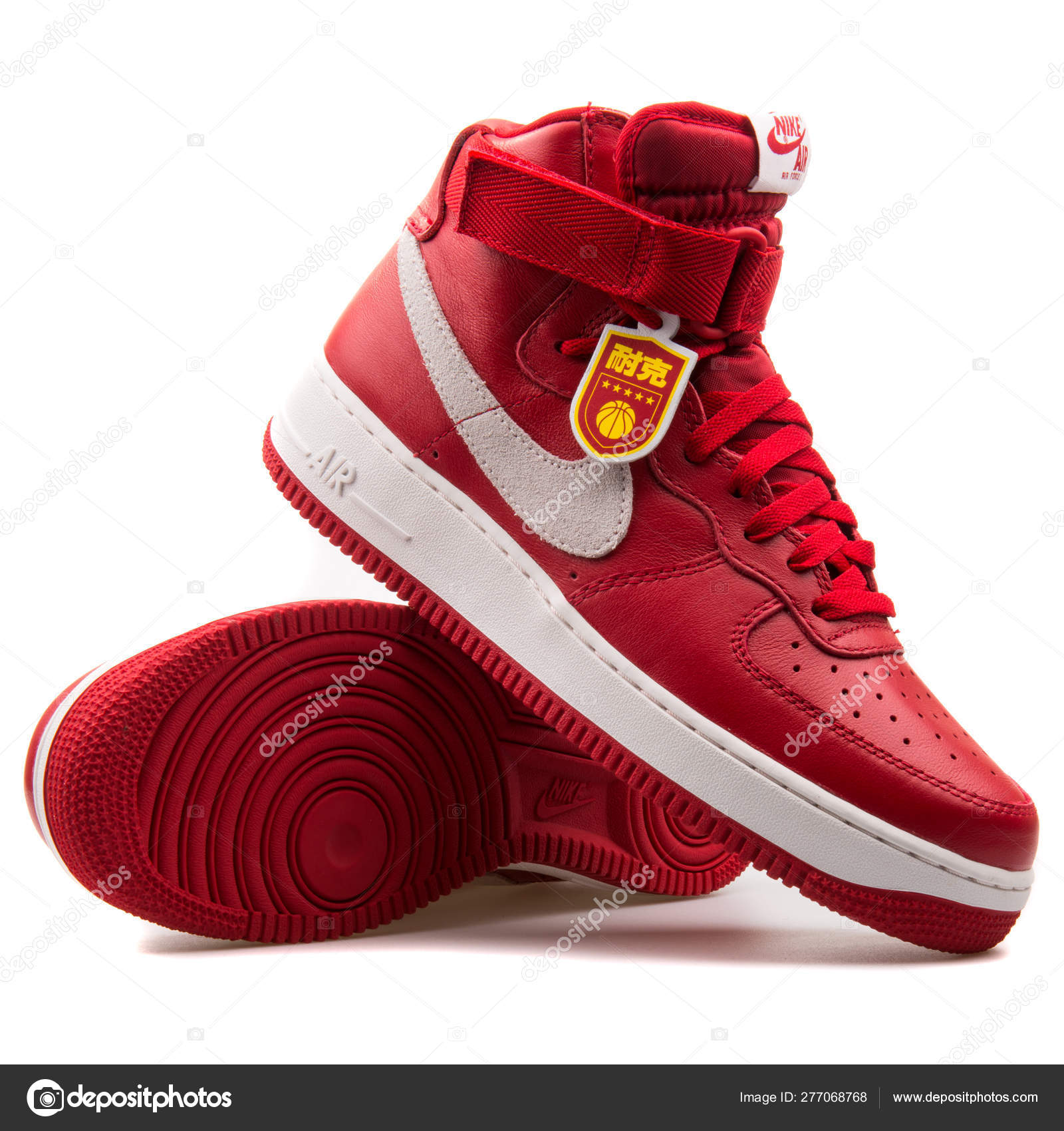 air force 1 blancas y rojas