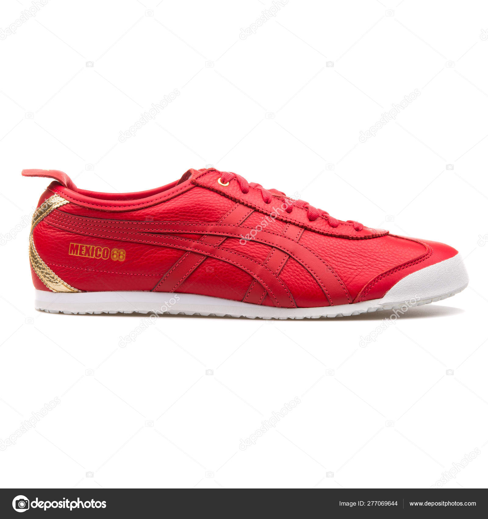 Onitsuka Tiger Mexico 66 red sneaker