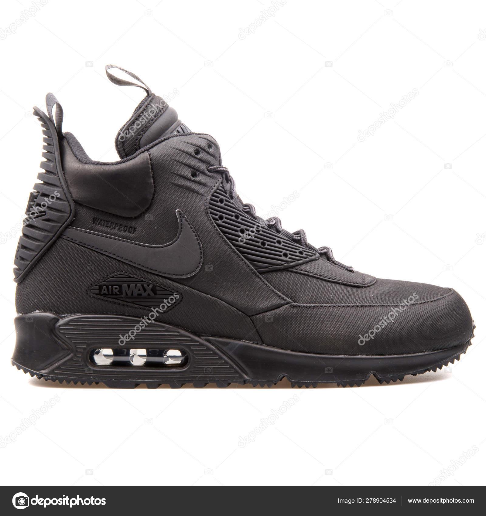 Nike Air Max 90 Sneakerboot Winter black sneaker 278904534