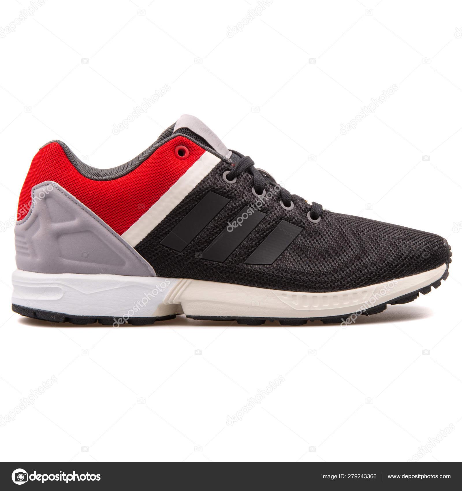 adidas zx flux rojas