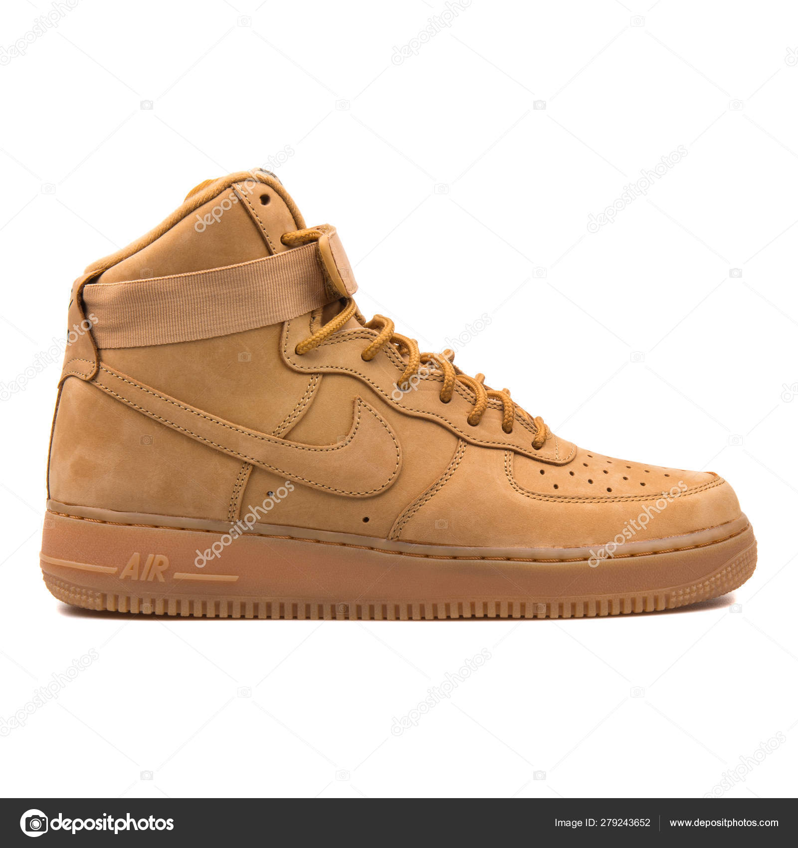 Nike Air Force 1 High marrone