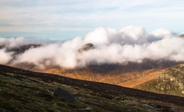 Mountain scenery in the Mourne Mountains, UK
