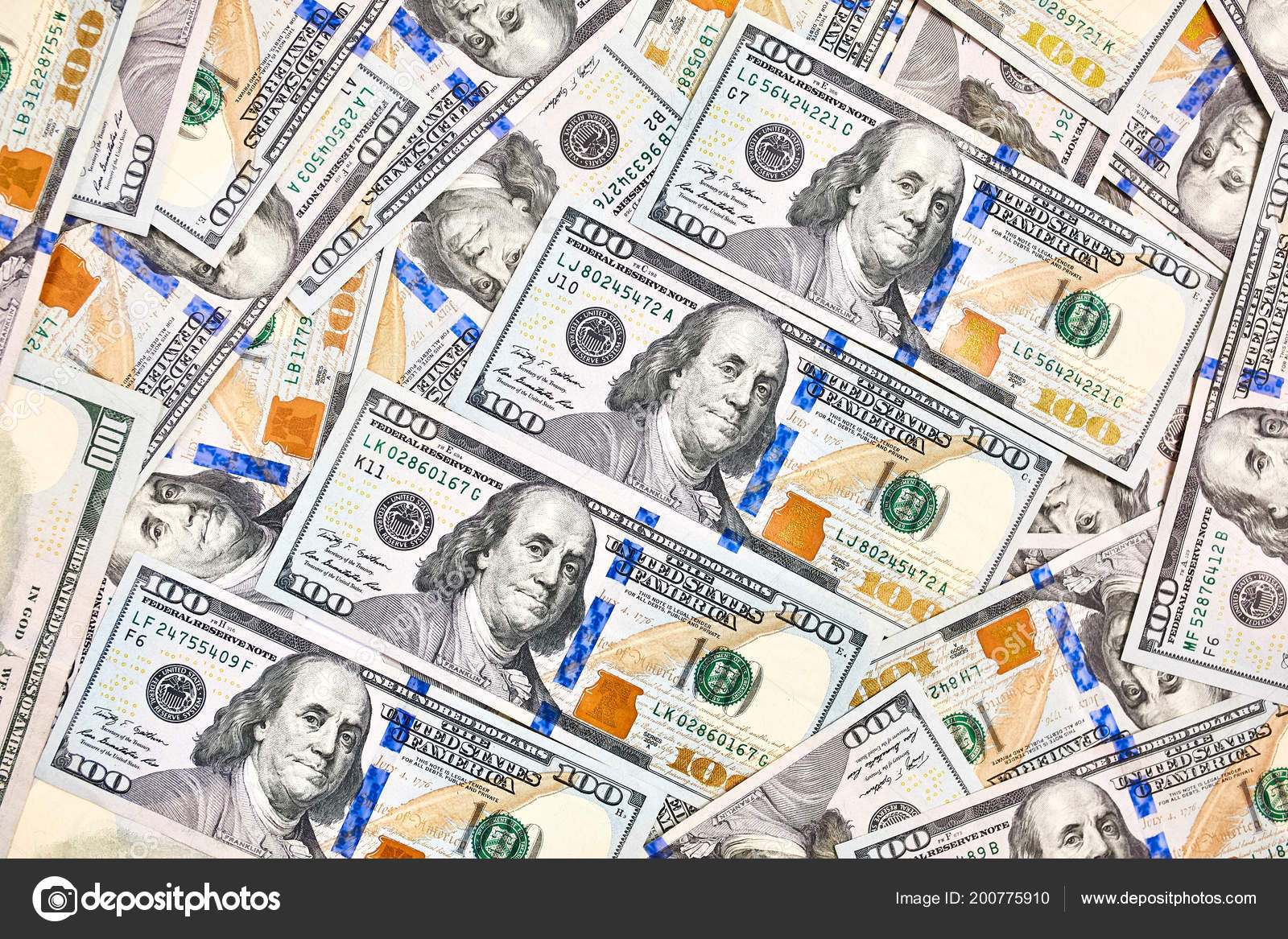 New 100 Dollar Bill Wallpaper Wallpaper Background