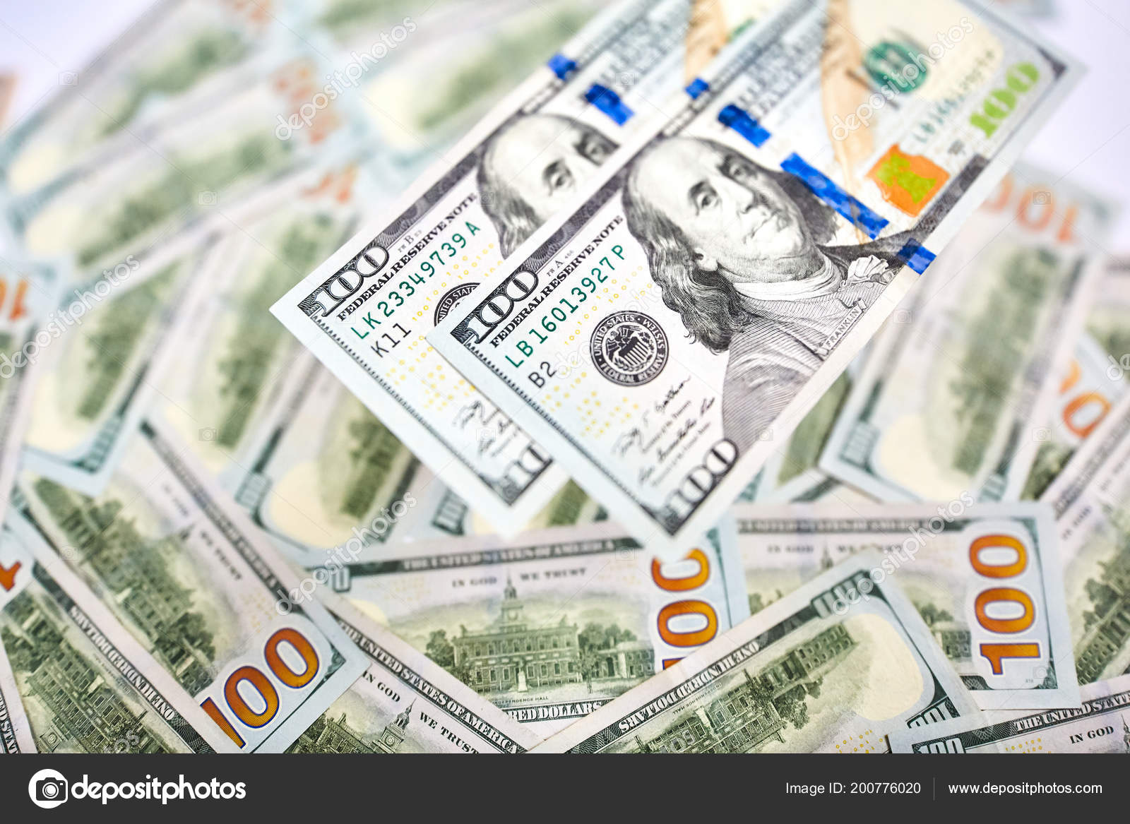 Wallpaper Background American Money Hundred Dollar Bill View