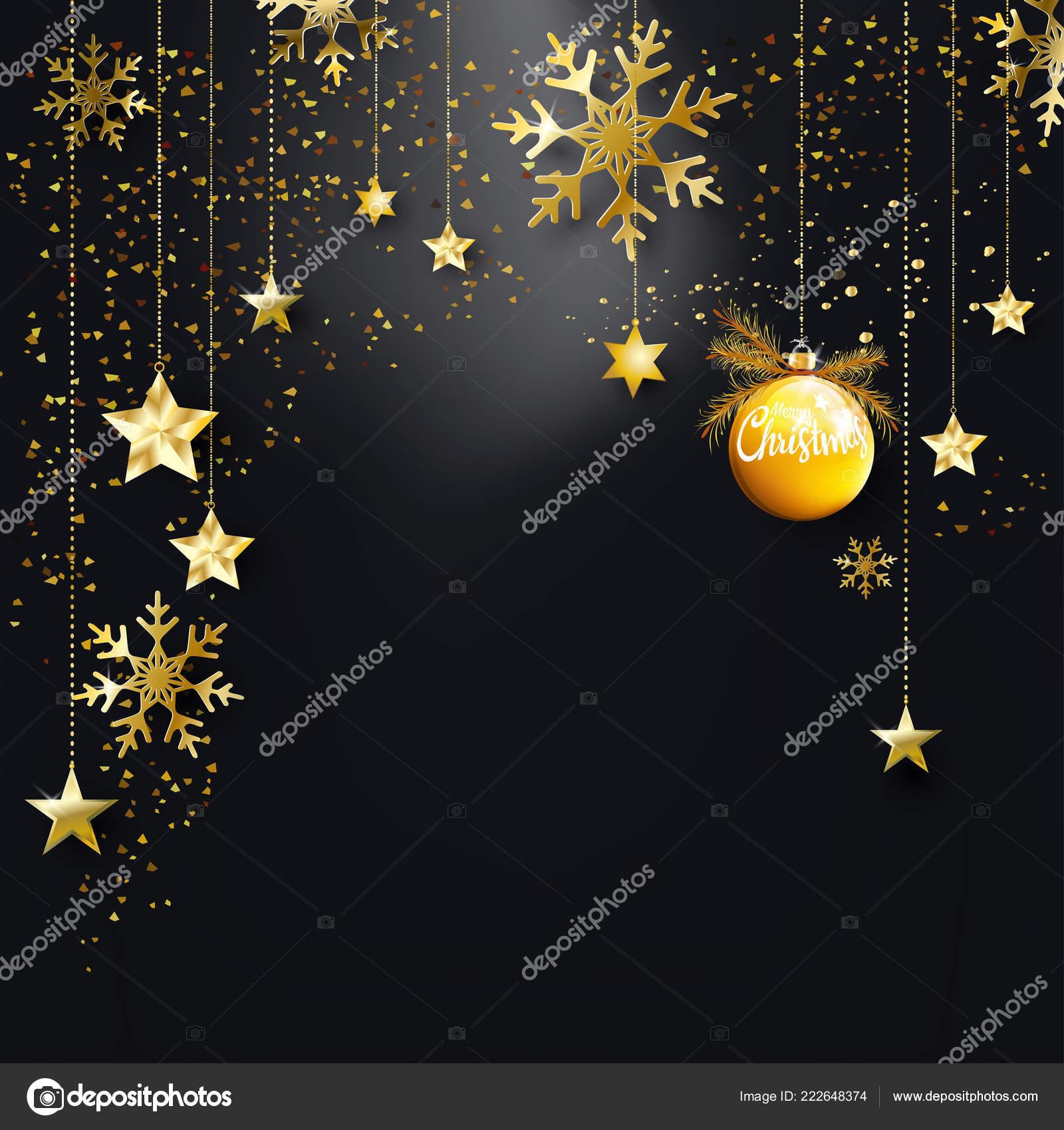 Christmas Invitation Background Gold.Background Gold Black Christmas Black Christmas