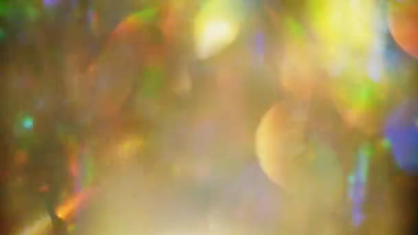 Světelné efekty rozostřeného pozadí